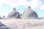 LAXT Coke Storage Domes